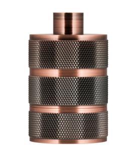 More about Lampholder Alu Grid E27 Copper Antique
