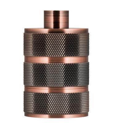Fassung Alu Grid E27 Kupfer Antik 140326 8714681403266