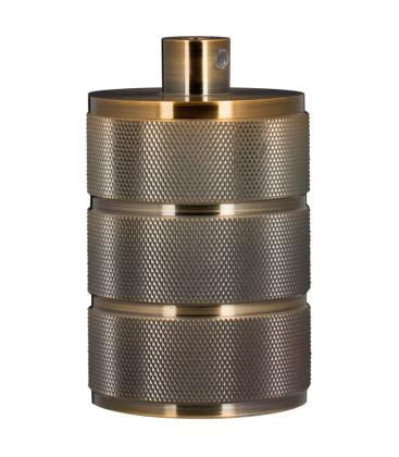 Lampholder Alu Grid E40 Bronze Antique 140327 8714681403273