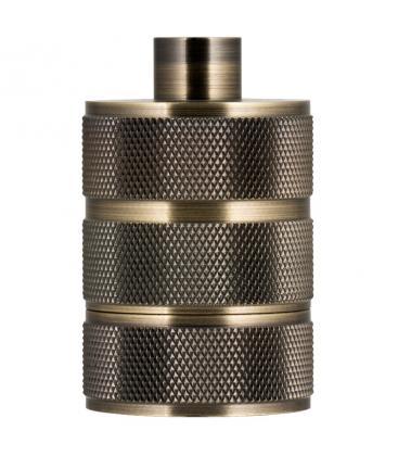 Fassung Alu Grid E27 Bronze Antik 140323 8714681403235