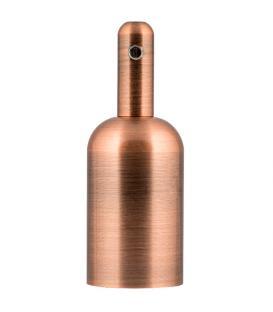 Plus de Douille Alu Bottle E27 Cuivre antique