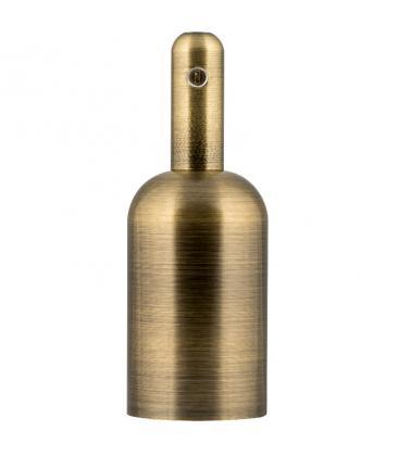 Portalampada Alu Bottle E27 Bronzo antico 140329 8714681403297