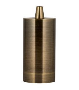 Mehr über Fassung Alu Long E27 Bronze Antik