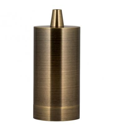 Fassung Alu Long E27 Bronze Antik 140912 8714681409121