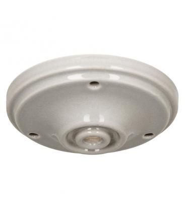 Ceiling Cup Porcelana Gris 140333 8714681403334