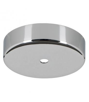 Ceiling Cup Metal Cromo + Agarre del cable transparente 139702 8714681397022