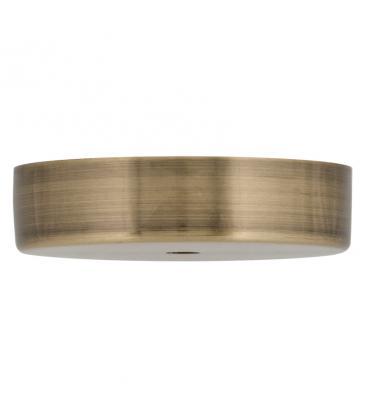 Ceiling Cup Metal Bronzo antico + Presa del cavo trasparente 140334 8714681403341
