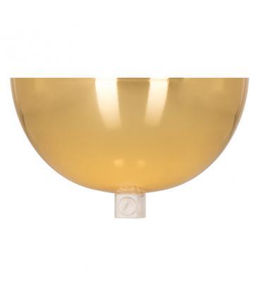 Ceiling Cup Bowl Oro + Presa del cavo trasparente 140338 8714681403389