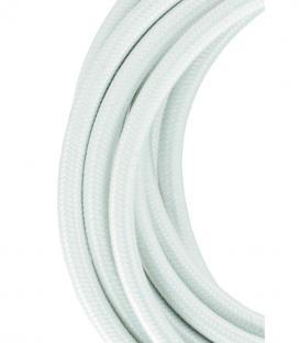 Plus de Câble textile 2C Blanc 3m