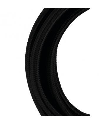 Câble textile 2C Noir 50m 140317 871468140317