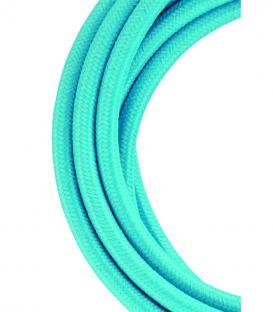 Več o Tekstilni kabel 2C Nebesno modra 3m
