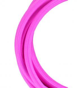 Mehr über Textilkabel 2C Rosa 3m