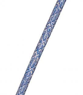 Plus de Câble Tweed 2C Bleu 3m