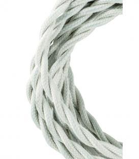 Più su Cavo tessile Twisted 2C Beige 3m