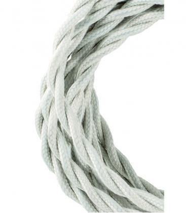 Cavo tessile Twisted 2C Beige 3m 139688 8714681396889