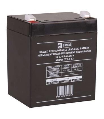 SLA Batteria 12V/4,5Ah B9653 8595025340832