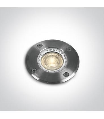 Incasso in acciaio inox 35W GU10 IP67 Circolare 69006G 5291889036425