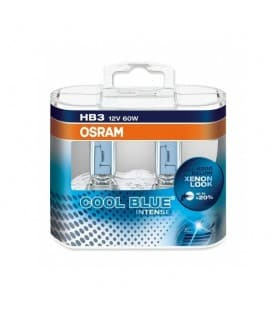 HB3 12V 60W 9005 CBI Cool Blue Intense - Paquete doble