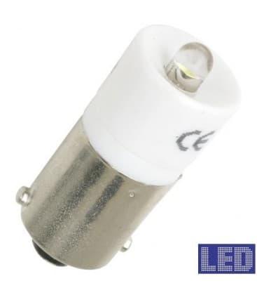 Ba9s S.LED White 24-28V AC/DC