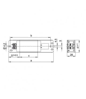 Vorschaltgerat LN36.149 230V 50HZ T8, T12, TC-F/TC-L, TC-DD, T-U/T-R