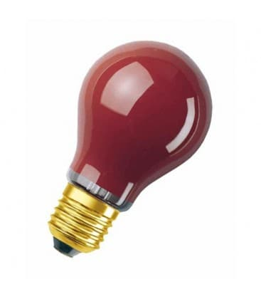 Decor A 11W E27 Rosso DECOR-A-11-RD 4008321545824