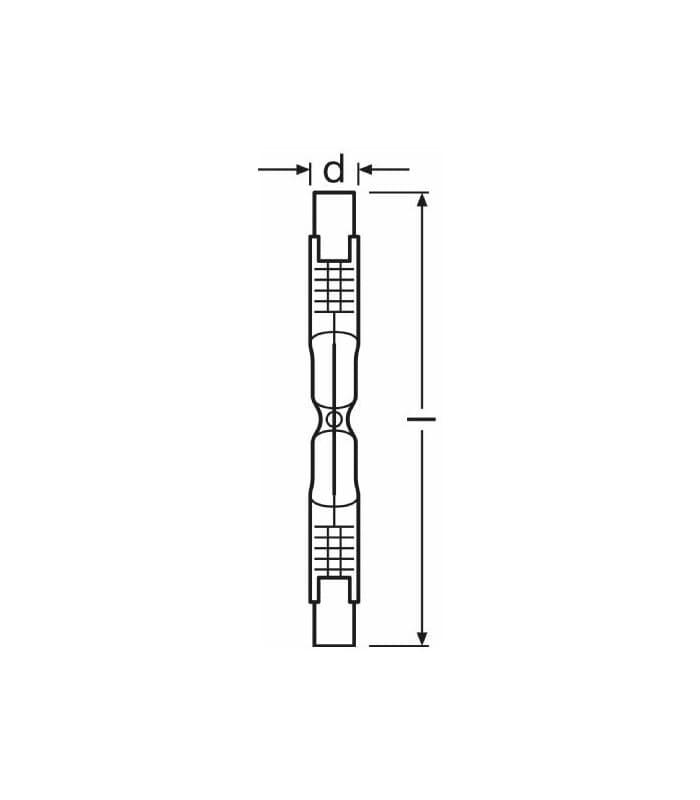 Osram Haloline ECO 48W 230V R7s