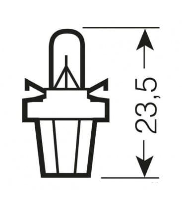 2721 MFX 12V 1.2W BX8.5d Original Line