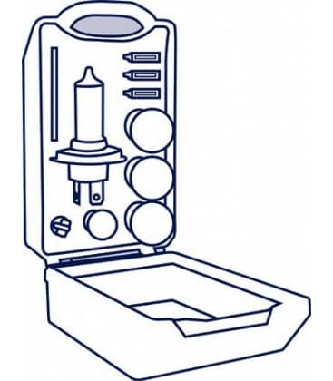 MiniBox para coches 12V CLKM H1 ALBM 64150