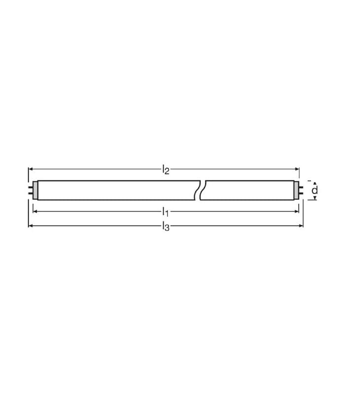 OSRAM Lumilux-Lampe L 8//840