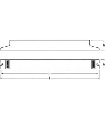 QTP8 1x58W 230-240V Quicktronic professional