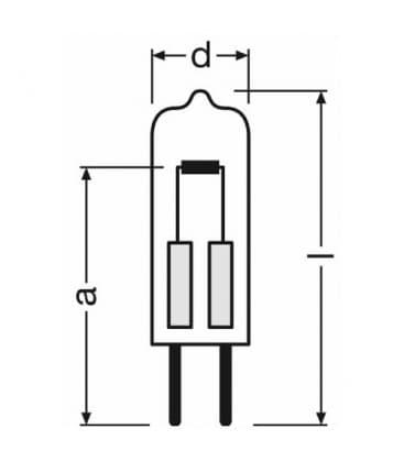 Halostar Oven 64418 10W 12V G4