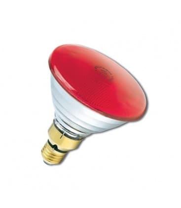 PAR38 80W 240V FL E27 Rojo 0019652 5410288196527