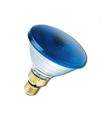 PAR38 80W 240V FL E27 Blue 0019650 5410288196503