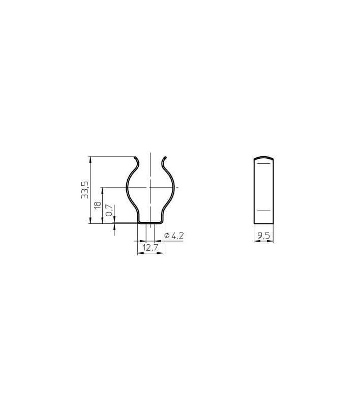 vossloh douille pour t5 fluorescent lampes 109685 4014364221038 fr. Black Bedroom Furniture Sets. Home Design Ideas