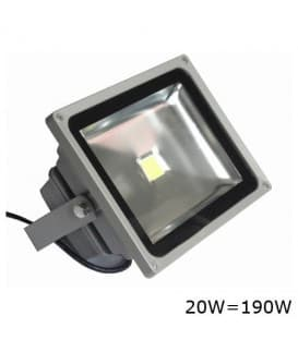 VT-4020 LED riflettore  20W (190W) IP65 WW