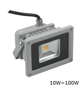 VT-4010 LED reflecteur 10W (100W) IP65 CW