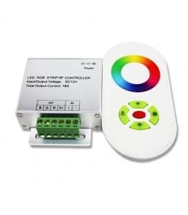 RGB LED Krmilnik DC 12V/24V 216W/432W RF z daljinskim upravljalnikom 20m