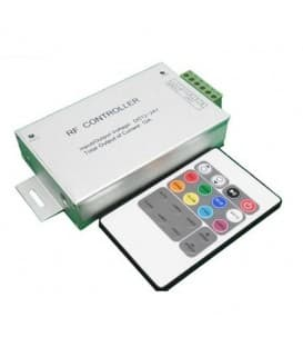 RGB LED Controlador DC 12V/24V 144W/288W RF con control remoto 20m