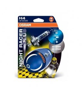 H4 12V 60W 64193NRP Night Racer plus - Double Pack