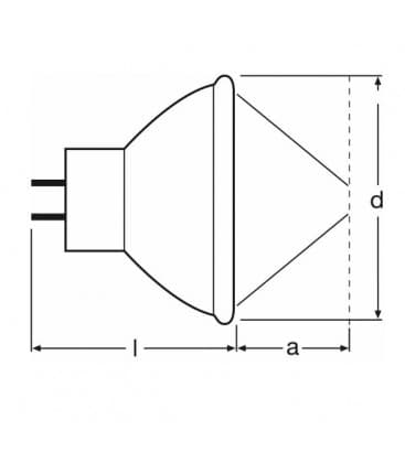 64629 EFP-6 100W 12V GZ6.35