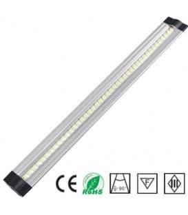 LED gabinete de la luz 12V 10W WW 500mm trapecio