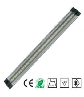 LED cabinet light 12V 5W WW 500mm trapezium