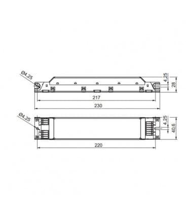 ELXc 418.204 3x18W, 4x18W T8