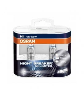 H1 12V 55W 64150 NBU Night Breaker Unlimited - Double Pack