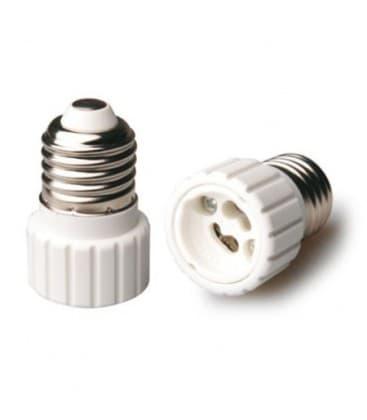 Adaptador de sostenedor lampara de E27 a GU10 LA-ZKC-A2710 8033638776322