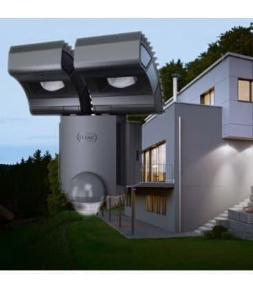 osram noxlite led spot 2x8w sensor gr ip44 41015 4008321981998 de. Black Bedroom Furniture Sets. Home Design Ideas