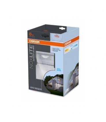 Noxlite LED spOT 8W Sensor WT IP44 41038