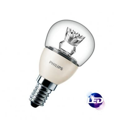 Master LEDluster D 4-25W 220-240V WW P45 CL E14 Regulable