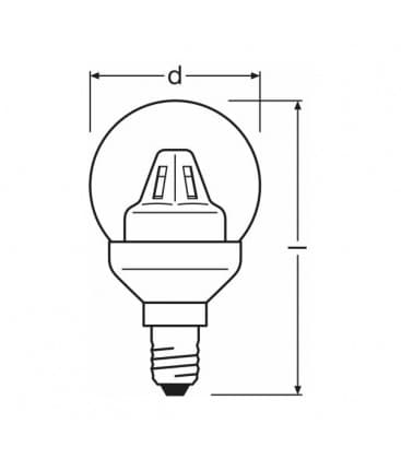 7972 Led Star Classic P 15 2w Ww 220 240v E14 4052899911260 on osram led datasheet