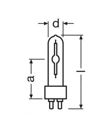 HCI-t  35W-830 wdl pb G12